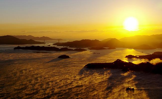 三原の海霧