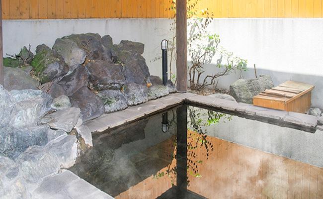 男性用 露天風呂