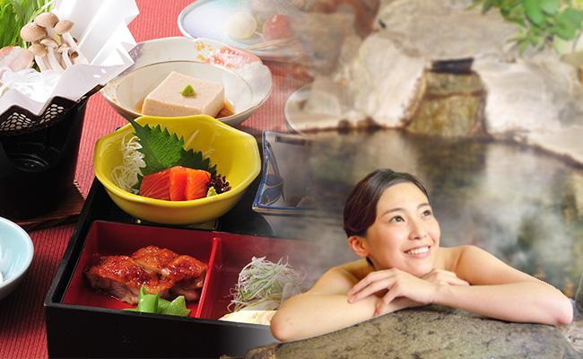 温泉と料理を楽しむ日帰りプラン