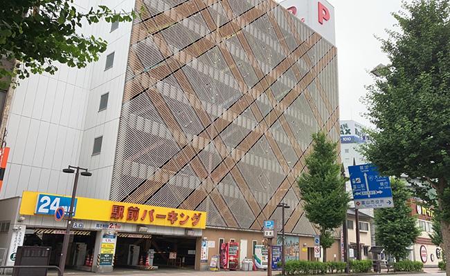 徒歩一分のJA提携駐車場