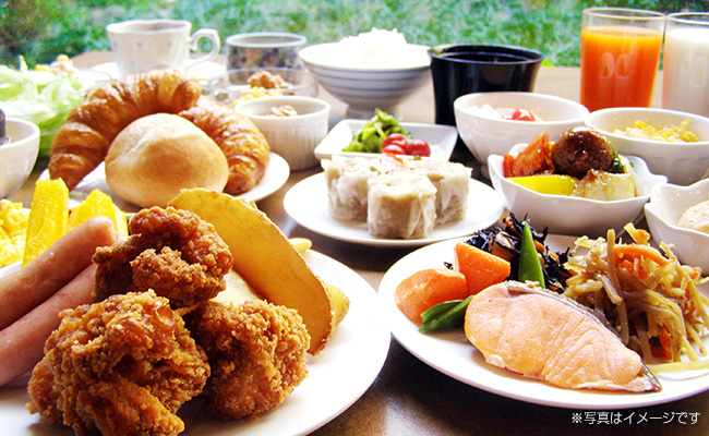 BBHホテルグループの朝食