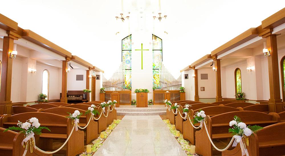 チャペル Saint June|ウエディング・結婚式|長岡グランドホテル ...